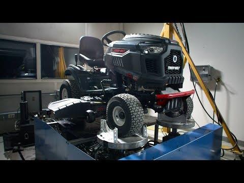 Durability testing   Troy-Bilt® riding mowers   How We're Built