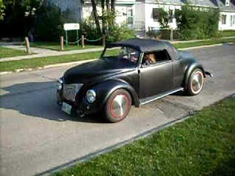 1940 ford rat rod VW