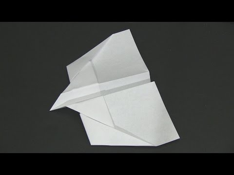 How to Make a Paper Airplane - Skyhawk Glider