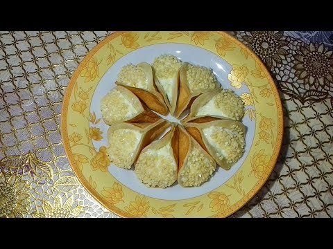 Qatayef Arabian Pancake    কাতায়েফ এরাবিয়ান প্যানকেক রেসিপি    Atayef Recipe