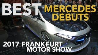 Mercedes GLC F-Cell, Concept EQA, Smart Vision EQ Concept & More: 2017 Frankfurt Motor Show