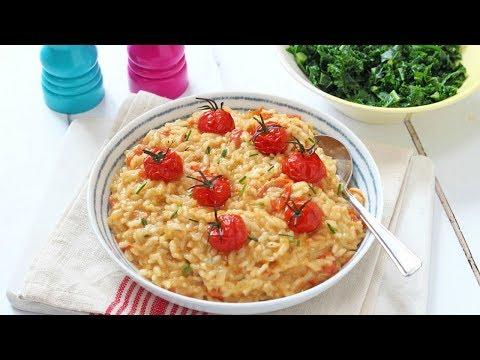 Baked Cheese & Tomato Risotto | Cheat's Risotto Recipe
