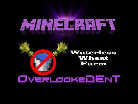 Waterless Wheat Farm - Minecraft Xbox 360/PS3 - [Tutorial]