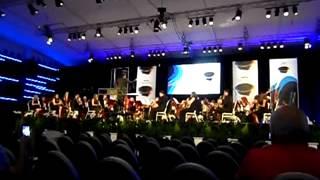 Pasodoble Puenteareas tocada por la Banda Unión Musical Unión de Meaño en el WMC Kerkrade 2013