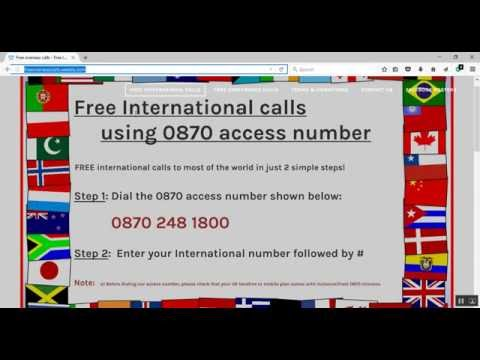 How to make free international calls from your home phone(landline)