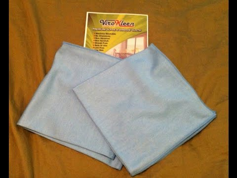 Premium Glass Cleaning Cloth Review