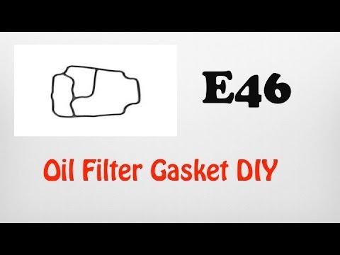 DIY BMW Oil Filter Gasket E46