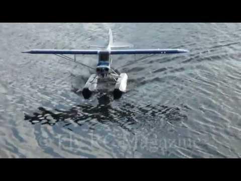 Hangar 9 1/4 Scale Super Cub Float Conversion Fly RC Magazine Review plane