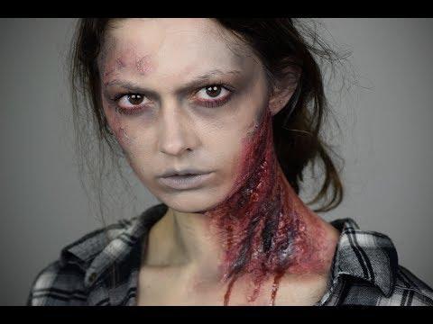 Zombie | Toilet Paper Wounds Halloween Tutorial