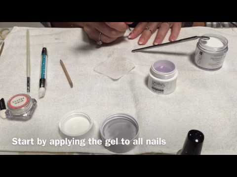 Acrygel Nails - how to do it yourself