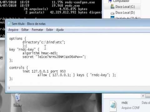 DNS- Configurando o Bind no Windows 7