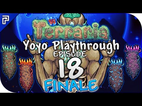 Terraria 1.3.4 Let's Play | The Moon Lord Megasode FINALE! | Yoyo Playthrough [Episode 18]