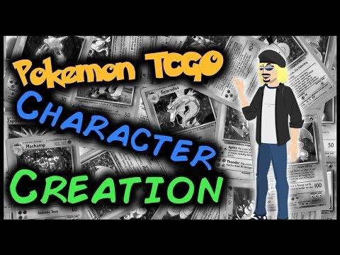 Pokemon TCGO - Character Creation