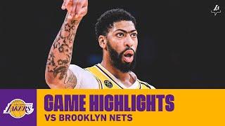 HIGHLIGHTS | Anthony Davis (26 pts, 8 reb) vs. Brooklyn Nets