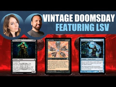 Learning Vintage Doomsday with LSV / Magic: The Gathering