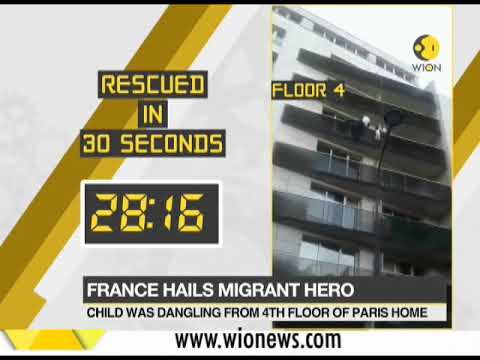 Malian migrant who saved child to be given French citizenship