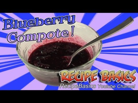 Blueberry Sauce Recipe   Blueberry Compote Recipe