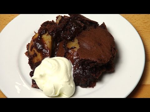 Chocolate Pear Pudding | One Pot Chef