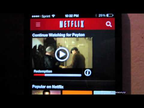 Netflix Profiles Setup and Demo (iPhone/iPad)