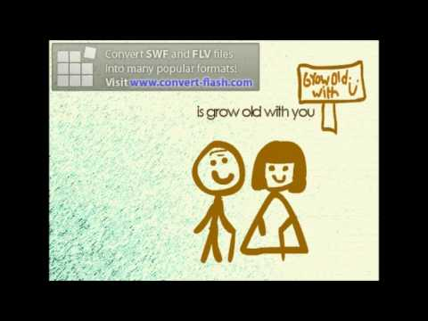 Grow Old With You Stick Man