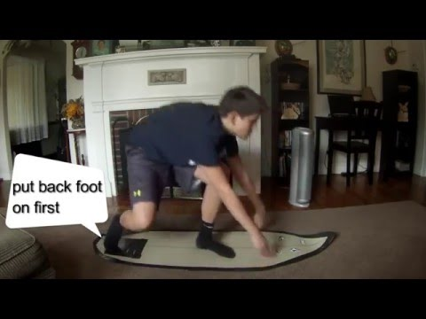 how to pop up on a shortboard surfboard