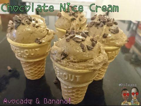 Chocolate Nice Cream (Avocado & Banana)