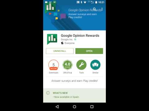 How to get FREE Google play store credits