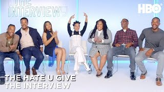 'The Hate U Give Interview w/ Amandla Stenberg, Angie Thomas, Anthony Mackie & More | HBO