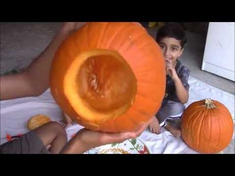 Pumpkin Carving Fun for Halloween Scary and Fun Faces || How to Carve Halloween Pumpkins
