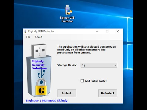 Make USB Storage Device Read Only and Write protected