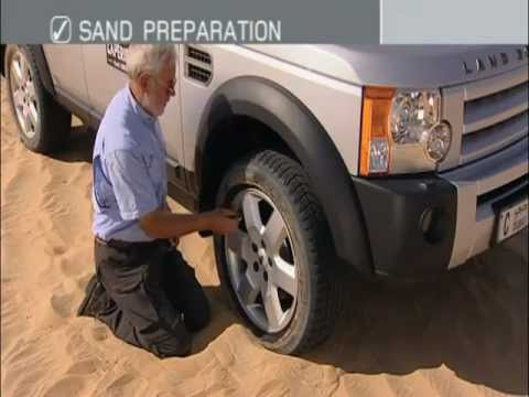 Guide to Off Road Driving - Driving on Sand - by Land Rover Experience