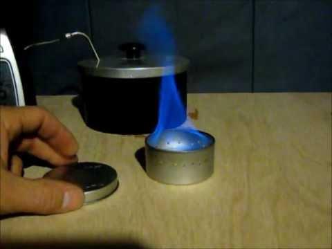Tin Alcohol stove