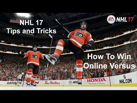 How To Win In Online Versus - NHL 17 Tips and Tricks