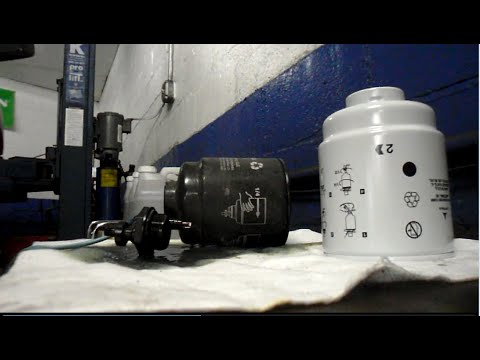How to replace the fuel filters on a 2013 Dodge Ram 6.7