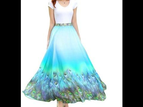 Umbrella Cut Skirt Easy Full Tutorial | measurement,cutting,stitching