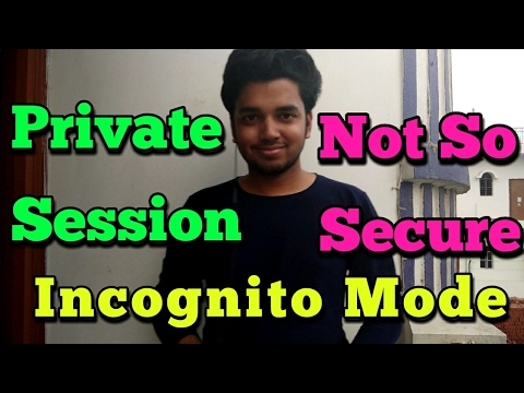 Incognito Mode Makes You Private But.... | Hindi