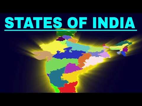 States and capital cities of India | Easy way to Learn | Kids | The openbook