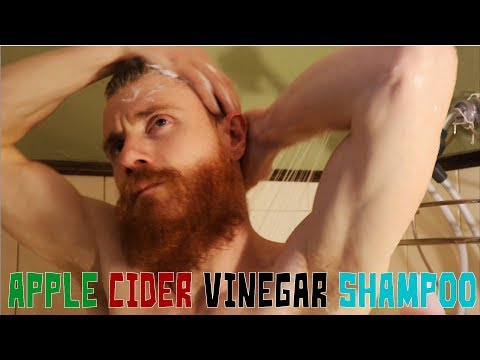WOW   APPLE CIDER VINEGAR SHAMPOO for FASTER Growing Beard & HAIR