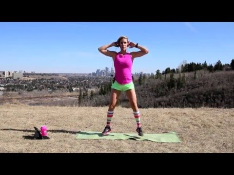 NEW WORKOUT! #36 Train with Tish - Spring into Shape! 4/11/16