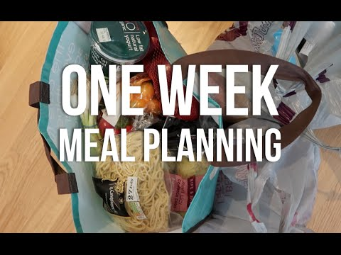 A WEEK OF MEAL PLANNING | Lily Pebbles