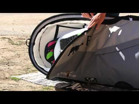 Surfboardbag  The Smuggler Series Surf Travel Bag by Pro-Lite