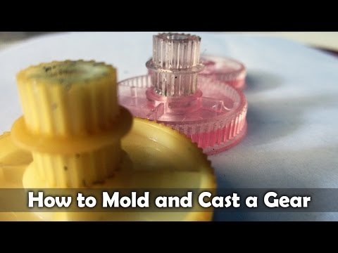 How To Mold And Cast a Gear