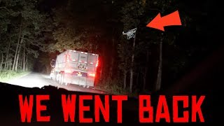 we went back to look for my drone on clinton road... (you wont believe what we found out...)
