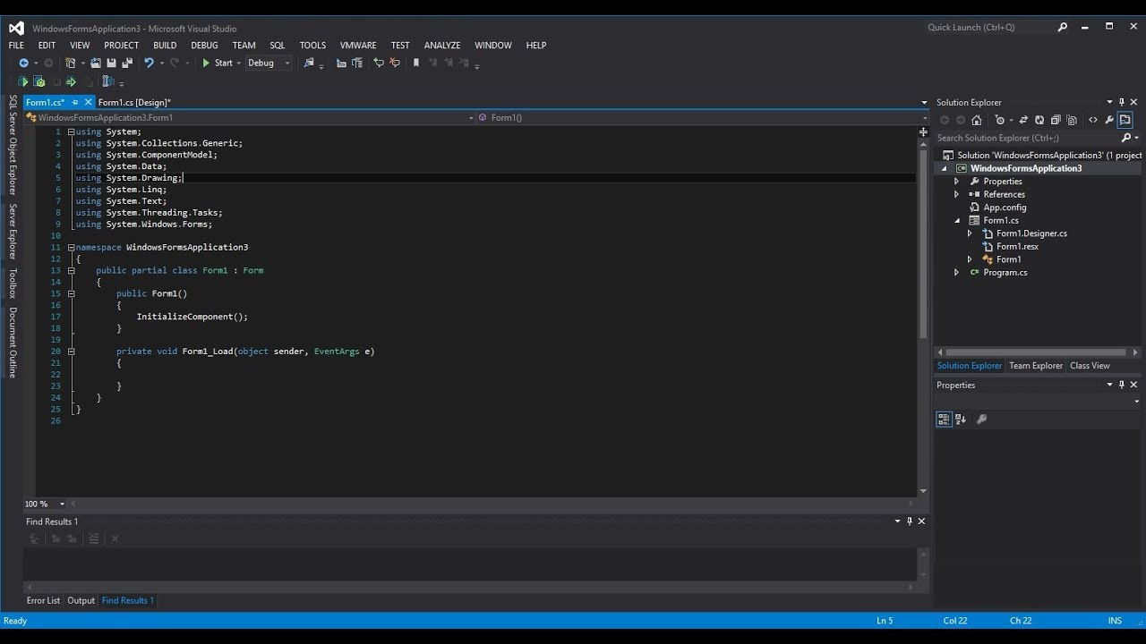 Change Visual Studio IDE (Change Color Theme And Show Line Number)