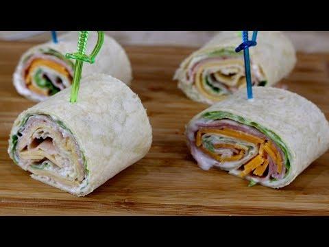 How to Make Homemade Sandwich Wraps - Live Stream
