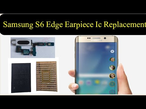 samsung s6 edge speaker not working