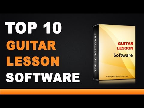 Best Guitar Lesson Software - Top 10 List