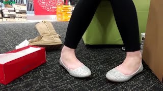 Shoe shopping with Nikki, ballet flats