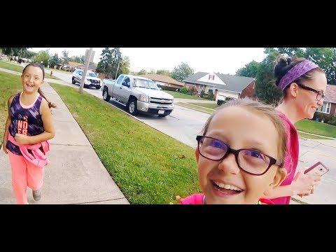 Cassie and Jessica Neighborhood Fun!