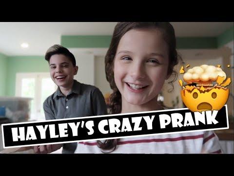 Hayley's Crazy Prank 😬 (WK 377)   Bratayley